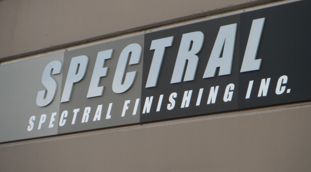 Company front sign